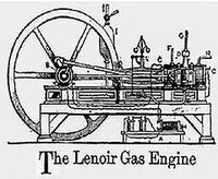 The Lenoir Gas Engine (1860)